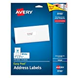Image of Avery Easy Peel Address Labels for Inkjet Printers 1