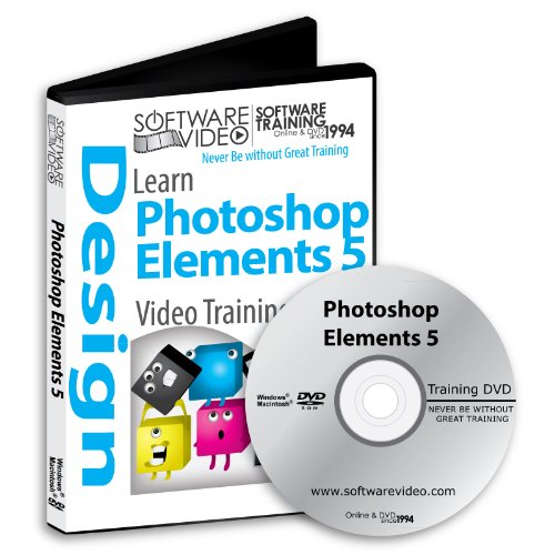 Software Video Learn Adobe Photoshop Elements 5 Training DVD Christmas Holiday Sale 60% Off training video tutorials DVD Over 12 Hours of Video Tutorials Training