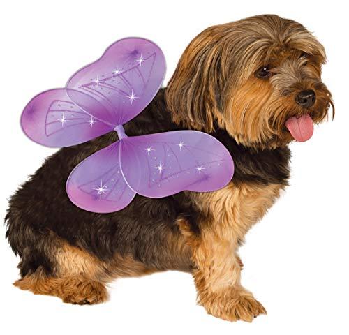 Rubie's Pet Costume Purple Fairy Wings, Small to Medium]()