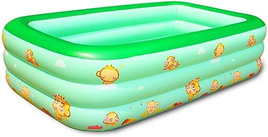 Adultos más gruesa Bañera inflable baño Inflable Plegable piscinas ...