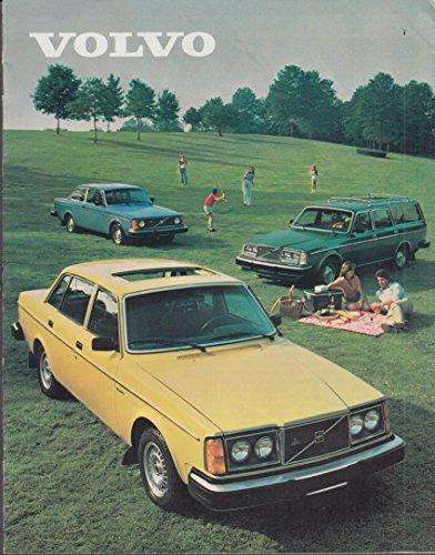 1980 Volvo sales brochure DL GT GLGLE Bertone -