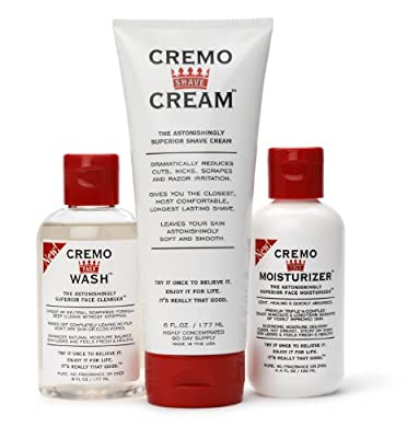 Best Cheap Deal for Cremo Cream - Shave Cream, Face Wash & Moisturizer for Men - Gift Set from The Cremo Company - Free 2 Day Shipping Available