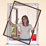 Mosquito Strip Door Curtain - Multiplate - Insect Protection - Slat Fly Screen for Doors - 100x220 cm Anthracite