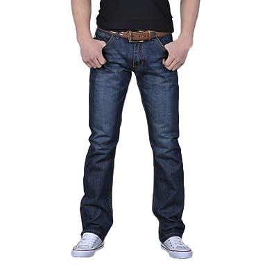 ♚ Pantalones Denim Hip Hop para Hombre, Pantalones Vaqueros Largos de algodón Sueltos Ocasionales de otoño Absolute: Amazon.es: Ropa y accesorios