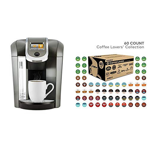 Keurig Single Serve K-Cup Programmable Coffee Maker with 60 K-Cup Pods $109.99 **Today Only**