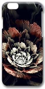 3D Fractal Floral Sparkle Flower iPhone 6 Case