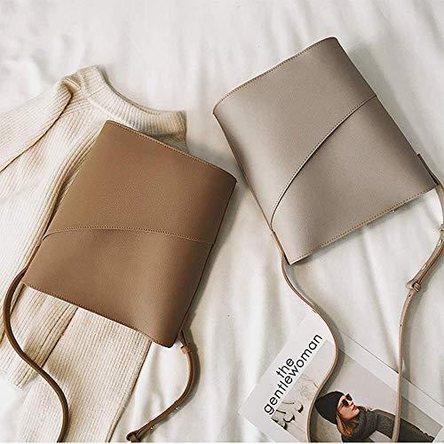 et kaki dos Crossbody téléphone à double pour à Sacs souple à Sac emballage Spacieux portable bandoulière Lumière bandoulière sac ZOx1w4