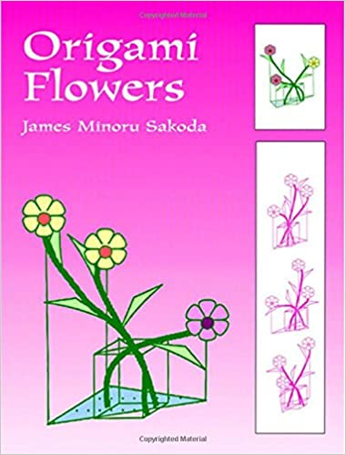 Origami flowers dover origami papercraft james minoru sakoda origami flowers dover origami papercraft james minoru sakoda 9780486402857 amazon books mightylinksfo
