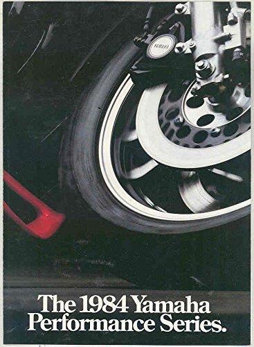1984 Yamaha Fj1100 1100 Fj600 600 Rz350 350 Motorcycle Brochure