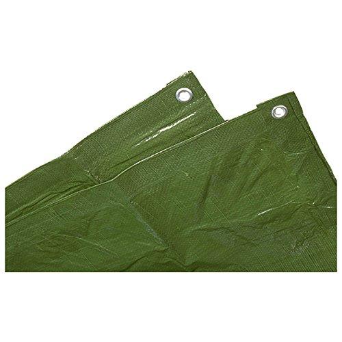Schutzplane, Abdeckplane, Zeltunterlage in verschiedenen Größen Grün 2x3 m