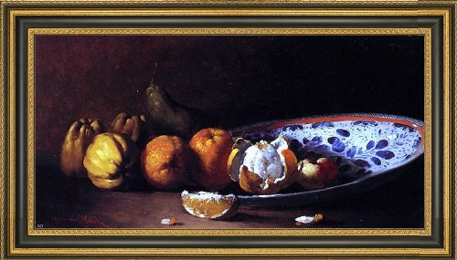 (Art Oyster Germain Clement Ribot Nature Morte Aux Fruits - 15