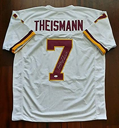 778f3e3a1 Image Unavailable. Image not available for. Color  Joe Theismann Signed  Jersey - JSA ...