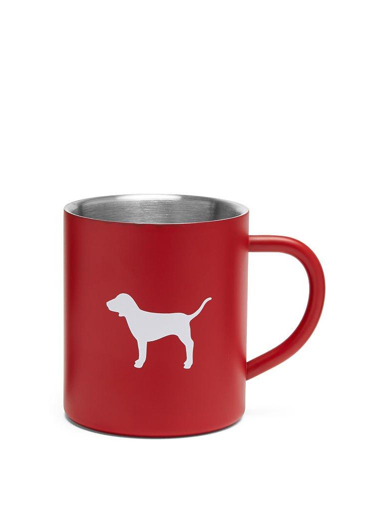 Victoria's Secret PINK Red Logo Dog Coffe Mug