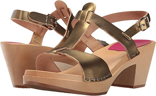 ebay online swedish hasbeens Women's Greek Sandal Clog Gold reliable footaction official site marketable sale online VQ5uXOuvC