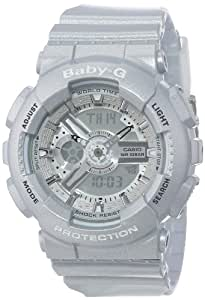 Casio Baby-G BA110 Classic Series Luxury Watch - Silver / One Size