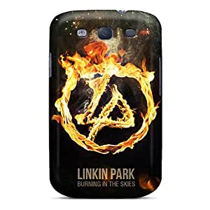 Awesome Linkin Park Burning In The Skies Flip Cases With Fashion Design For Galaxy S3 Black Friday