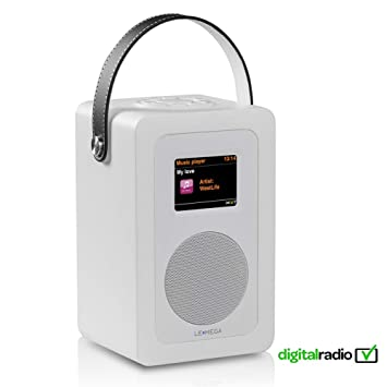 LEMEGA M6+ Radio Inteligente Portátil Con Wi-Fi, Radio Por Internet, Spotify, Bluetooth, DLNA, DAB, DAB+, Radio FM, Reloj, Alarmas, Preajustes Y ...