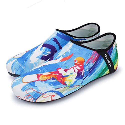 Barefoot Socks Outdoor Shoes Water Shoes Quick Yoga Surfing Diving Design On Dry Aqua Shoes Slip Sports NeuFashion w01qEPgxE