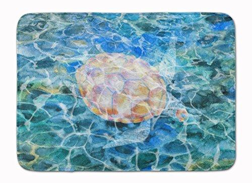 Caroline's Treasures Sea Turtle Under Water Floor Mat, 19 H x 27 W, Multicolor from Caroline's Treasures