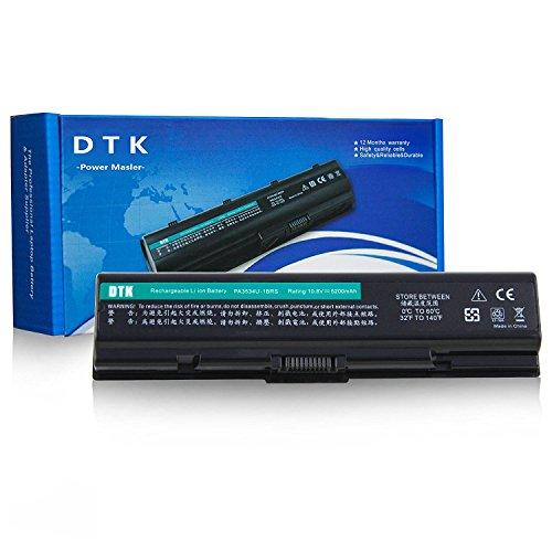 Dtk® Ultra Hochleistung Notebook Laptop Batterie Li-ion Akku für TOSHIBA PA3534U-1BRS PA3533U-1BRS PA3535-1BAS EQUIUM SERIES Satellite A200 A205 A210 A215 A300 A305 A350 A355 A500 A505 L200 L201 L202 L203 L205 L300 L305 L350 L450 L455 L500 L505 L550 L555 M200 M202 M203 M205 M206 M207 M208 M209 M211 M212 M215 M216 Satellite Pro P300 notebook battery (10.8V 4400MAH 6CELLS)