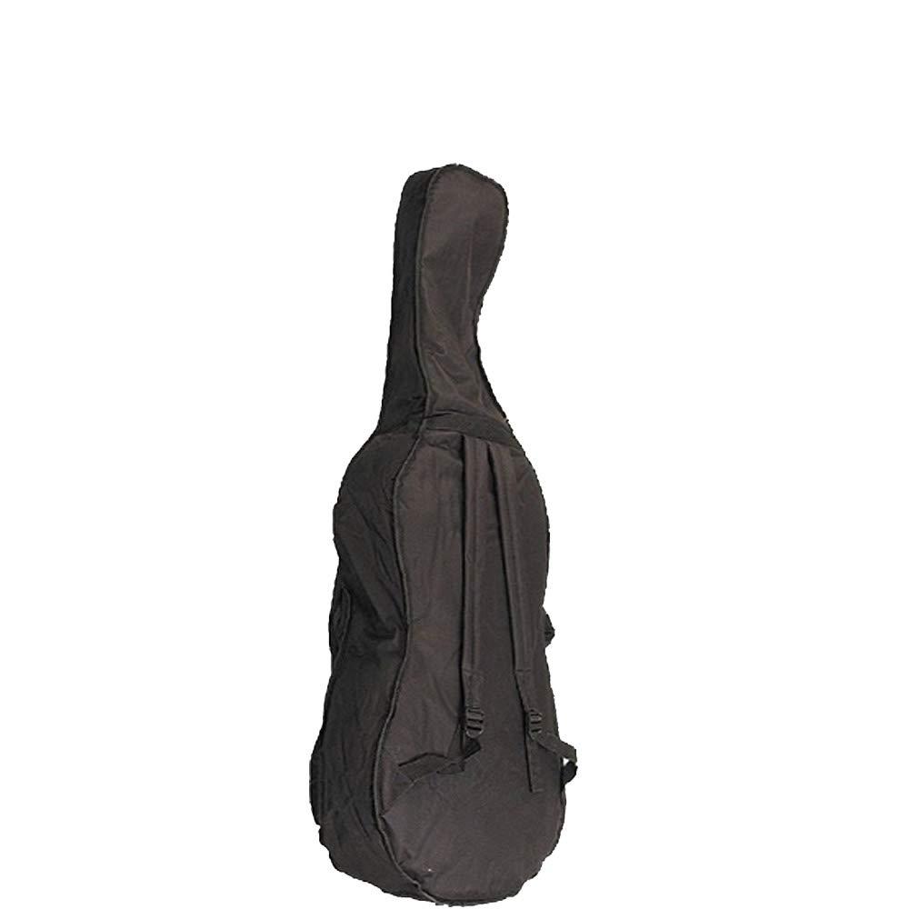 NAOMI 4/4 Cello Soft Bag Case For 4/4 Cello Gig Bag W/Strap Durable Cello Bag New