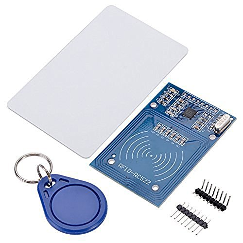 NFC RFID RC522 RF IC Card Sensor RFID Reader Module With S50 Card Keychain for Arduino