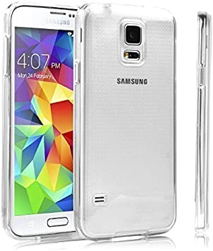 LONVIPI® Samsung Galaxy S5 Ultra Slim Transparente TPU Silicona Funda Protective Case Funda Cover Trasparente LONVIPI®: Amazon.es: Electrónica