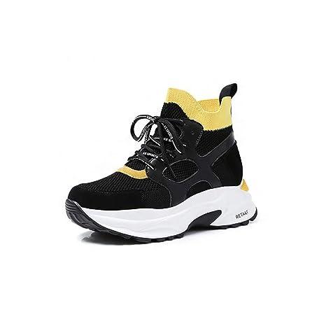 Zapatos Casuales De La Mujer De Microfibra Primavera/Otoño/Invierno Zapatillas De Confort/