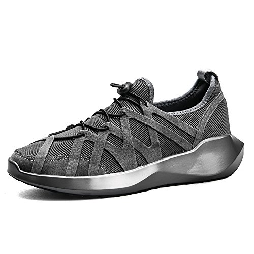 Men's Shoes Feifei Spring and Autumn Trendy Fashion Wear-Resistant Casual Shoes 3 Colors (Size Multiple Choice) Gray LRcWlmp