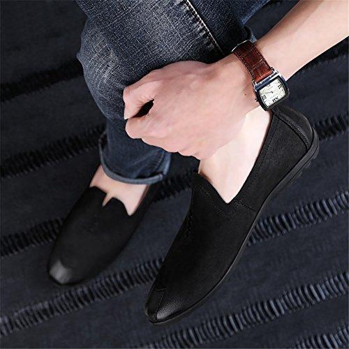 Otoño Primavera Slip Para De ons Cuero Comfort Mocasines Hombres Zapatos Y Un Conducción wqtZ8xII