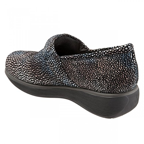 SoftWalk Women's Meredith Multi Mosiac Leather Clog/Mule 11