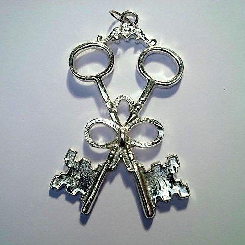 Masonic Lodge Treasurer Officer Jewel Silver Finish By (Lodge Finish)