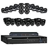 Lorex 32 Channel 4K 4MP Security System NR9326 6TB HDD 12 4MP LNB4421B Bullet Cameras & 8 4MP LNE4422B Dome Cameras with color night vision