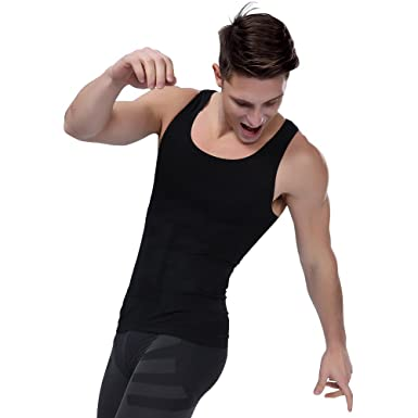 d164dba5a2 Amazon.com  Shaxea Men s Seamless Compression Shirt