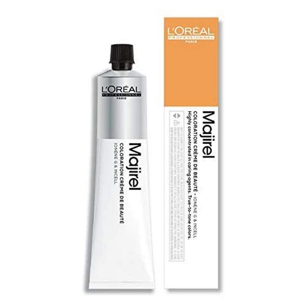 LOreal Majirel 6.3 , Color Rubio Oscuro Dorado - 50 ml
