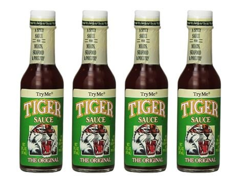 - Try Me Tiger Sauce 5 ounce (Pack of 4)