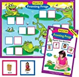 Magnetic Fronting Frogs Board Game - Super Duper Educational Learning Toy for Kids