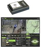 Oregon Scientific GPS-ATC9K - Navegador GPS para videocámara ATC-9K, color negro