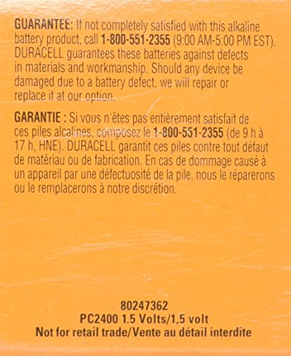 Duracell 32-MA92-DH0O Procell Alkaline Battery, AAA (Pack of 24) by Duracell (Image #2)