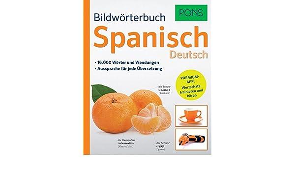 PONS Bildwörterbuch Spanisch (German) Paperback