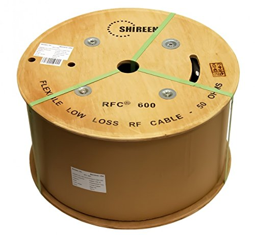 RFC600 500ft spool 600 grade ultra low loss Coax cable 600