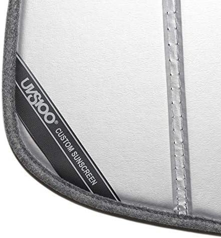 Laminate Material Covercraft UV11505SV Silver UVS 100 Custom Fit Sunscreen for Select Porsche 718 Cayman Models 1 Pack