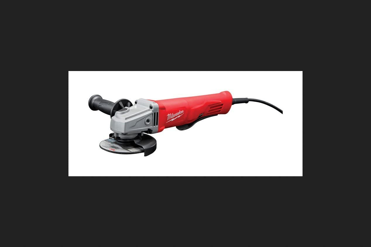 11 Amp Tool-Less Wheel Change Trigger Grip Milwaukee Small Angle Grinder 5 in