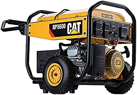 Amazon.com: Cat generador portátil a gasolina de 3600 ...