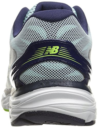 New Balance Damen 680 Hallenschuhe Ozone Blue Glo/Dark Denim