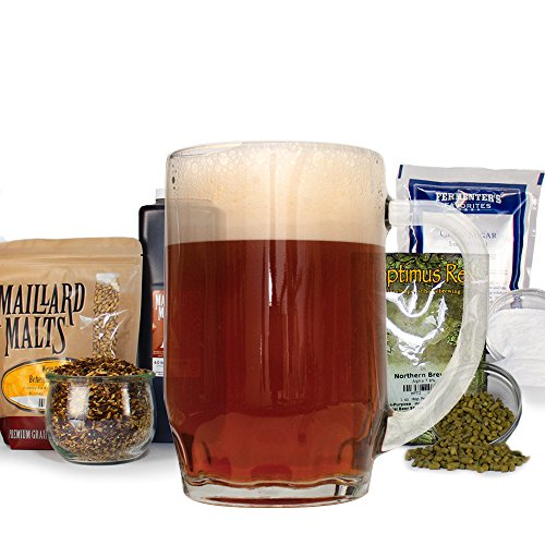 Phat Tyre Amber Ale With Specialty Grains Home Brew Beer Making Recipe Kit - Malt Extract, 5 Gallons Brewing Ingredients