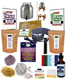 KKamp Continuous Brew Kombucha COMPLETE PACKAGE - Stainless Steel w/ Wood Stand + Essential Heat Strip