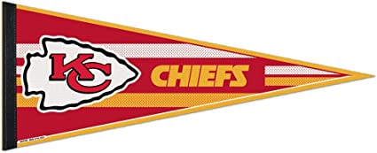 WinCraft KC Chiefs Pennant and 12 X 30 Banner