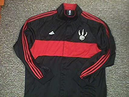 0dc3ae29297 Image Unavailable. Image not available for. Color  Morris Peterson Toronto  Raptors 2006-2008 Adidas Warm Up Jacket