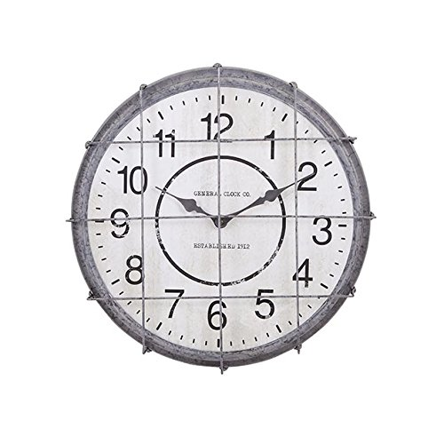 Imax 88680 Ella Elaine Postal Cage (Elaine Wall Clock)